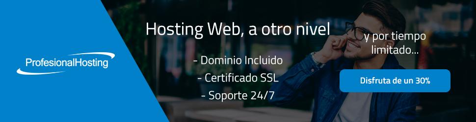 Servicios de hosting profesional económico